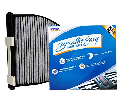 eathe Easy Cabin Filter, Up to 25% Longer Life w/Activated Carbon (BE-934) ()