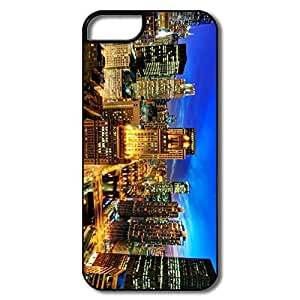 IPhone 5S Case, Chicago Night White/black Cases For IPhone 5S
