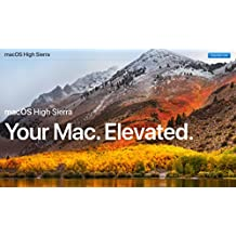 MacOS Mac OS X 10.13 High Sierra USB Drive Full Install Installer Update Upgrade Recover Restore Backup