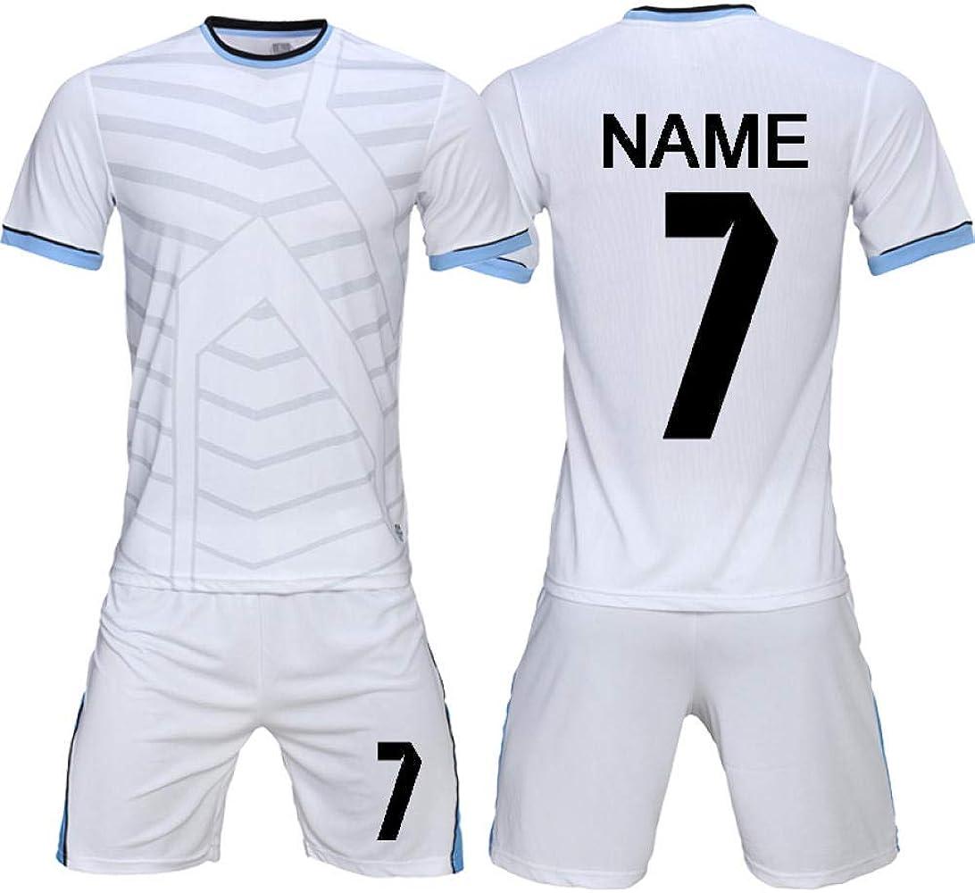 WDSLHH Jersey Bricolaje Camisetas De Fútbol Conjunto Uniformes ...