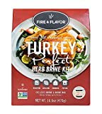 Fire & Flavor All Natural Turkey Perfect Herb Brine Kit, Perfect for Roasting, Grilling, Smoking, or Frying, 16.6 Ounces