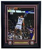 Allen Iverson Signed Framed 16x20 Philadelphia 76ers Kobe Bryant Layup Photo - JSA Certified - Autographed NBA Photos