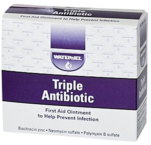 Water Jel Triple Antibiotic Ointment Packets   Ms60786  25