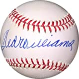Ted Williams Signed Official American League Baseball- Upper Deck Hologram - Autographed MLB Baseballs