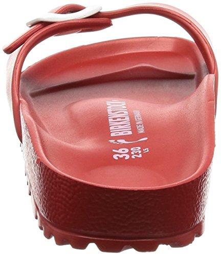Birkenstock Madrid Eva - Zapatillas de casa Mujer Rojo