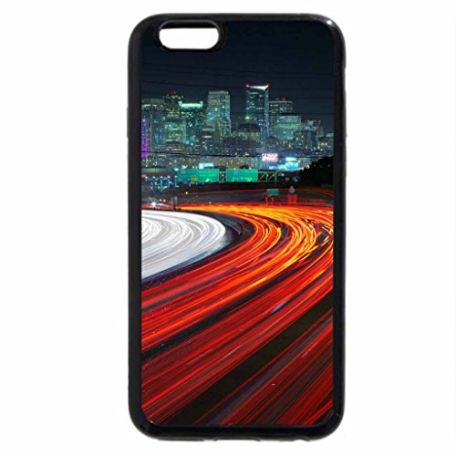 iPhone 6S / iPhone 6 Case (Black) City Lights from a Busy Highway