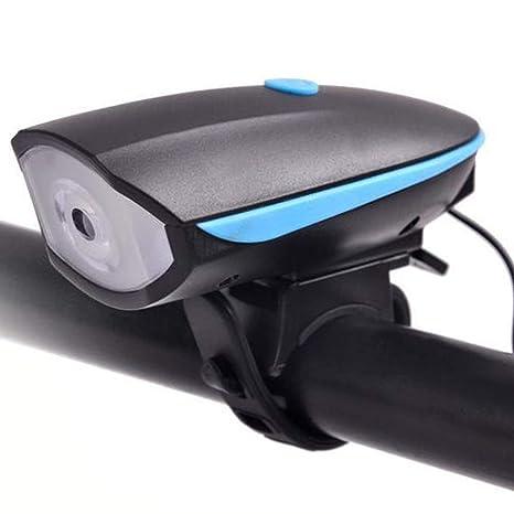 SLCSL Faro de Altavoz Altavoces USB de Carga para Mountain Bike de ...