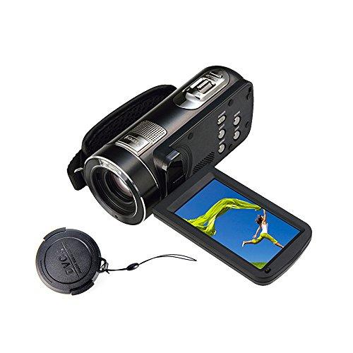 MARVUE 318 Full HD Digital Camcorder 1080p @30fps Max. 24.0 MP Full Color Screen For Low light Video Camera Recorder 3.0