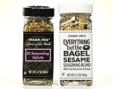 Trader Joe's - 21 Seasoning Salute and Everything but the Bagel Sesame Seasoning Blend - Set of 2