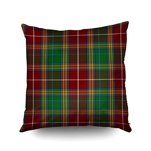 Baxter Sofa - Capsceoll clan baxter tartan plaid Decorative Throw Pillow Case 16X16Inch,Home Decoration Pillowcase Zippered Pillow Covers Cushion Cover with Words for Book Lover Worm Sofa Couch