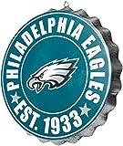 Philadelphia Eagles NFL Bottle Cap Wall Sign