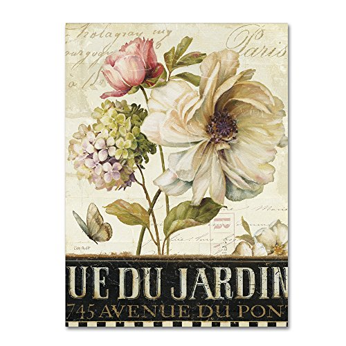 Marche de Fleurs II Wall Decor by Lisa Audit,