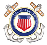 PERSONALIZED CHRISTMAS ORNAMENTS ARMED FORCES - COAST GUARD