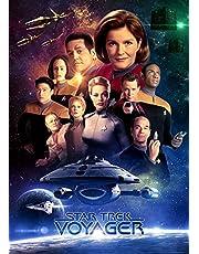 Star Trek Voyager c6081 A4 Canvas - Uitgerekt, klaar om op te hangen (12/8 inch)(31/20 cm) - Film Muur Decor Kunst Acteur Actrice Geschenk Anime Auto Bioscoop Kamer Muur Decoratie