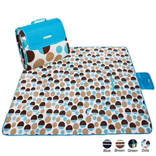 apollo walker Extra Large Soft Picnic Blanket with Waterproof Backing for Park,Beach,Picnic,Indoor(80
