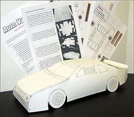 Amazon com: Auto Vynamics - PPRMDL-RACECAR-MODERN - Detailed Race
