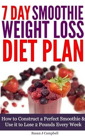 7 day smoothie diet plan