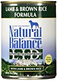 Natural Balance Lamb & Rice Formula Dog Food, 13 oz, Pack of 12 Review