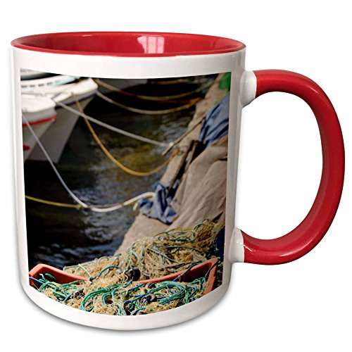 3dRose Danita Delimont - Turkey - Turkey, Paphlagonia, Sinop, Black Sea port - AS37 CMI0811 - Cindy Miller Hopkins - 15oz Two-Tone Red Mug (mug_133146_10)