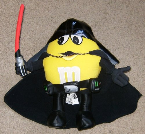 Star Wars Darth Vader M&M's 12 Plush Figure by Unknown ()