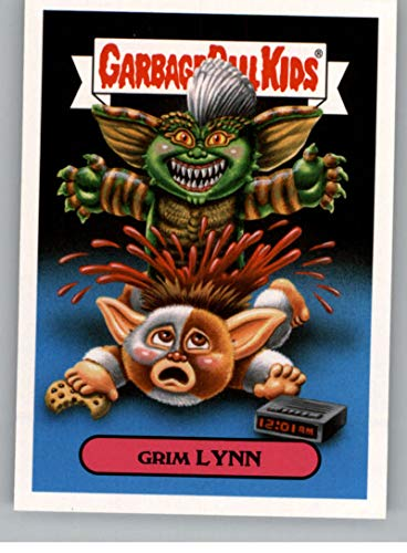 2018 Topps Garbage Pail Kids Oh The Horror-ible 80s Horror Sticker A NonSport #6A GRIM LYNN ()