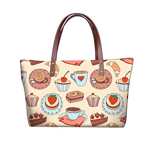 Handbags Women Bags V6lcc5077al Purse Foldable FancyPrint Wallets Large Satchel Handle Top wqFSqOT