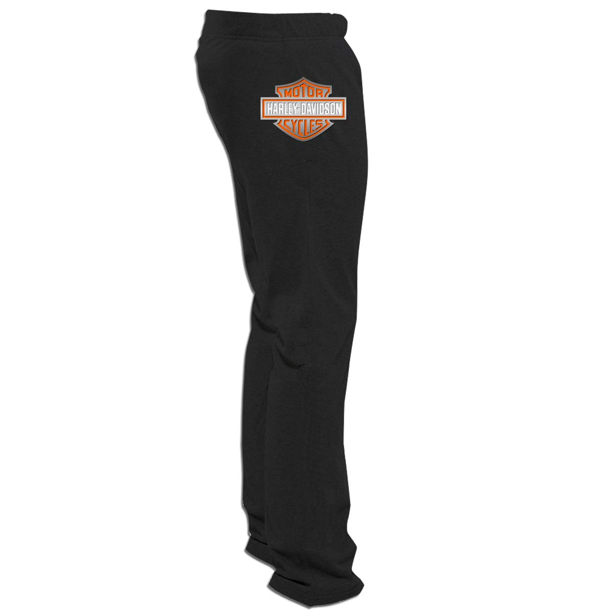 Men's Harley Davidson Gym Workout Track Pants With Pockets Meamyezz