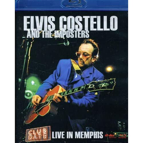 Elvis Costello & the Imposters: Club Date - Live in Memphis [Blu-ray]