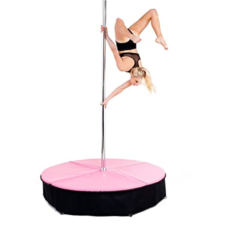 gymmatsdirect 5 x5 de Grosor Pole Dancing Mat, Plegable ...