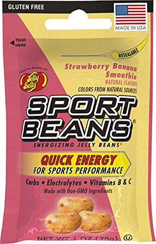 Jelly Belly Sport Beans - 24 Pack - Strawberry Banana Smooth