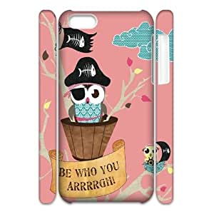 Personalized New Print Case for iPhone 6 plus 5.5 3D, Cut Owl Phone Case - HL-5336 plus 5.550