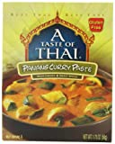 A Taste of Thai Panang Curry Paste, 1.75-Ounce Packets (Pack of 12)