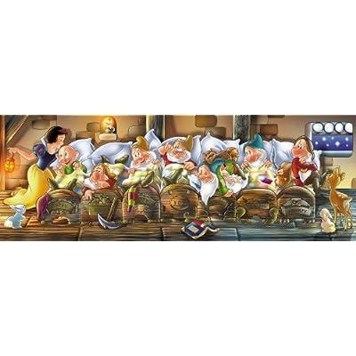 Clementoni Puzzle 39004 Biancaneve 1000 Pezzi Disney Panorama Collection