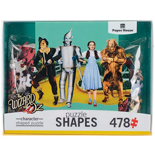Paper House Productions PUZ-0052E Shaped Puzzle, Wizard of oz Yellow Brick Road