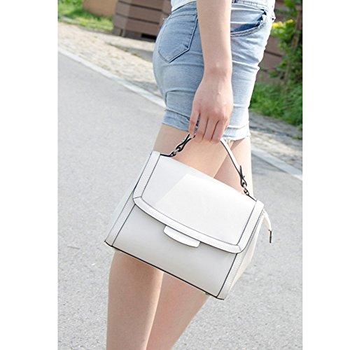 Bolsa Leather De Ms Ms Small Ms Mensajero Bolsa Cuero Shoulder De Bag Ms Shoulder Square Messenger Jiute Hombro Cuadrada Bag Jiute Hombro Pequeña xzCw7pqx