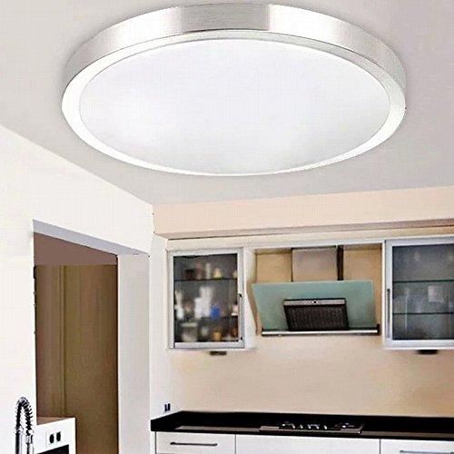 MCTECH/® 15W Warmwei/ß LED Deckenleuchte Modern Deckenlampe Flur Wohnzimmer Lampe Schlafzimmer 15W Warmwei/ß