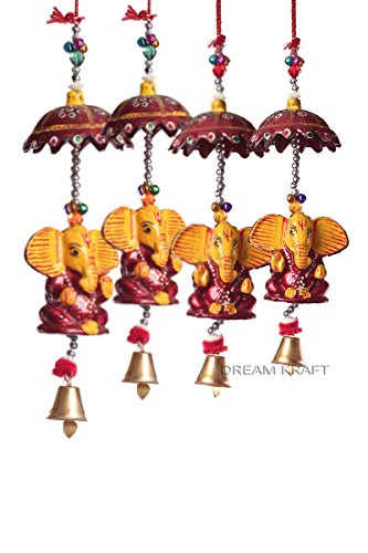 DreamKraft Decorative Ganesha Door Hangings Wall Art For