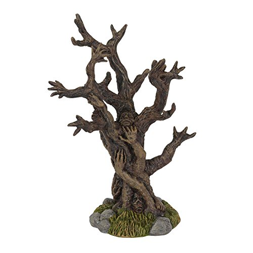 Department 56 Halloween Collections Tree of Terror Figurine Village Accessory, Multicolor -
