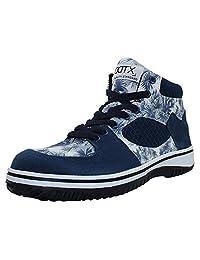 DDTX Unisex-Adultos 'Lightweight Steel Toe Hiker Zapatos de seguridad de trabajo Azul(41) zwgo4aGmp