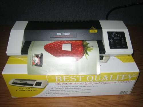 Heavy Duty Hot & Cold 4 Rolls 9'' Laminating Machine by China