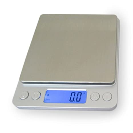 Smart Digital Scale 3000g 0 1g Accurate Multipurpose Electronic Kitchen Scale With Hefty Abs Stainless Steel For Food Spice Herbs Smart Auto Power