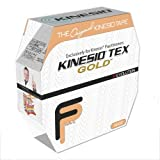 Kinesio Tex Tape -Color: Beige - 2'' x 103.3 ft - Economical Clinical Bulk Size Roll (Pack of 3)