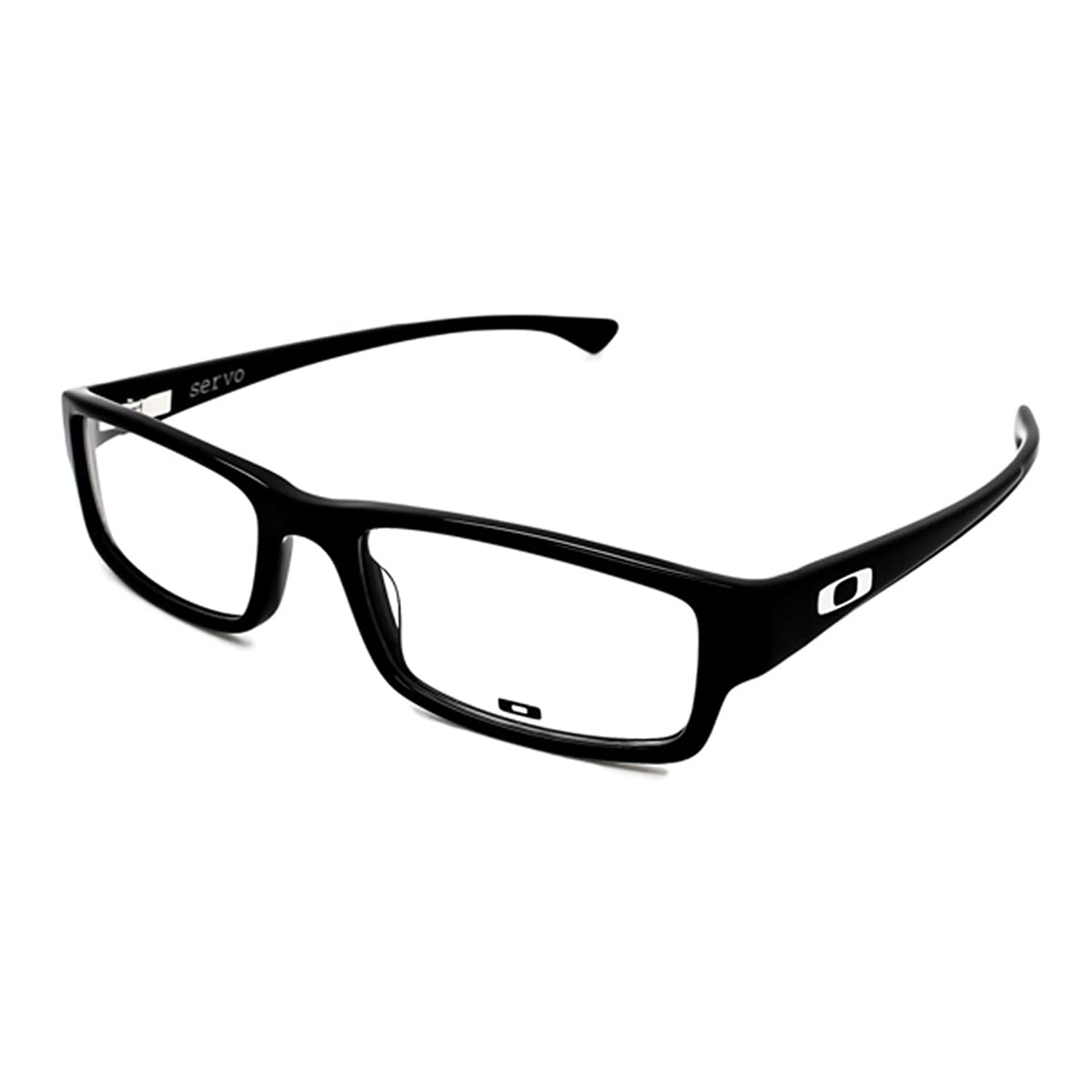 how to repair oakley glasses  amazon: oakley ox1066 01 servo eyeglasses polished black 53mm: oakley: health & personal care