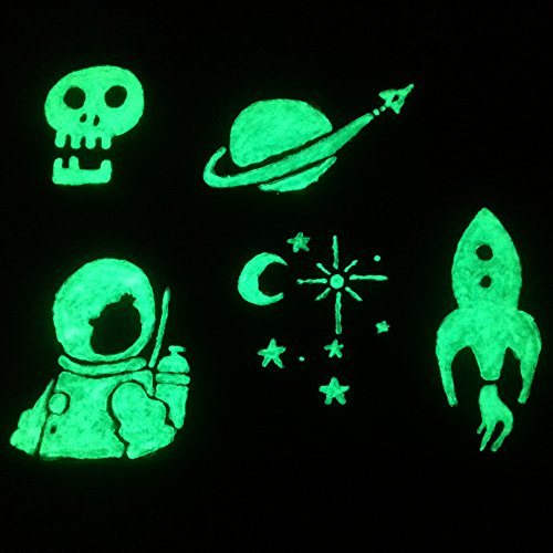 Glow in the Dark Paint, 0.68 oz (20ml), Aurora Bright Green, Non-Toxic,...
