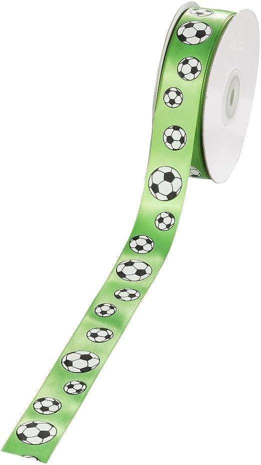 Balón de fútbol cinta, 25 mm, verde, 20 m, precio base 1 m/1,00 ...