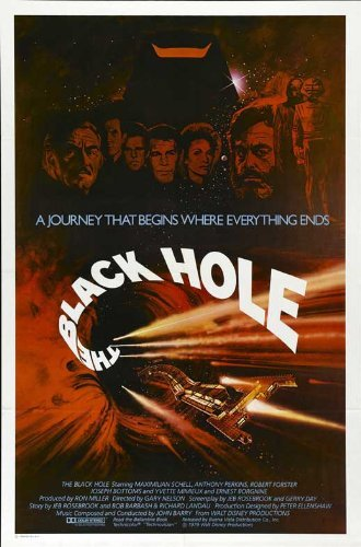 The Black Hole Poster Movie 1979 Style D