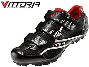 Vittoria Zapatos Bicicleta MTB Peak Negras: Amazon.es: Deportes y ...
