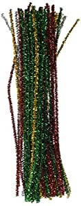 Tinsel Stems 6mm 12-Inch, 60/Pkg, Christmas