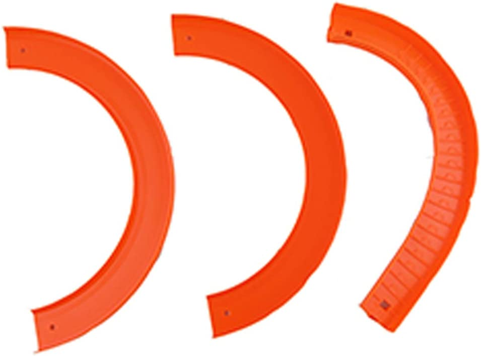 Replacement Parts for Ultimate Garage - Hot Wheels Ultimate Garage Vehicle Playset FTB69 ~ Replacement Track Pieces ~ Includes 3 Track Parts ~ Track T, Track S and 1 Generic Curve Track