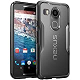 Nexus 5X Case, SUPCASE Google Nexus 5X Case Cover (2015 Release) Unicorn Beetle Series Premium **Slim** Hybrid Protective Case / Bumper (Frost/Black)